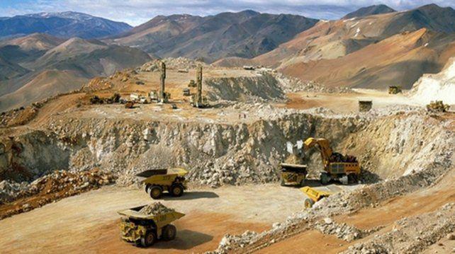 veladero. La mina de la Barrick sufrió derrames en 2015