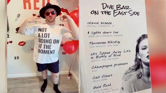 Video: Taylor Swift cancela su gira y un hombre le organizó una fiesta de cumpleaños en su honor