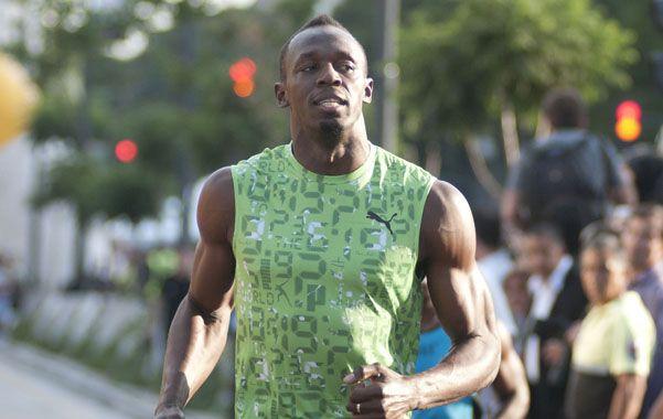 Sin sudor. Bolt