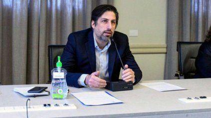 El ministro de Educación de la Nación, Nicolás Trotta.