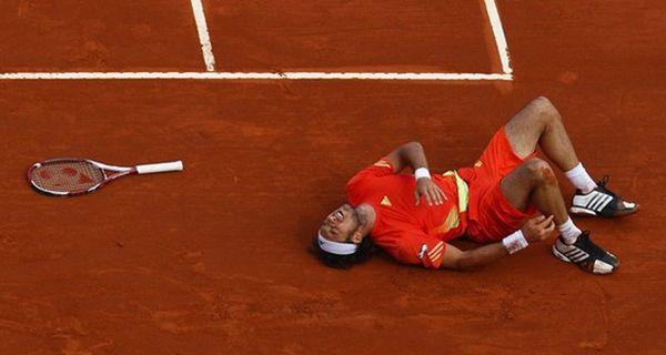 Mónaco le ganaba al holandés Haase pero tuvo que abandonar por lesión
