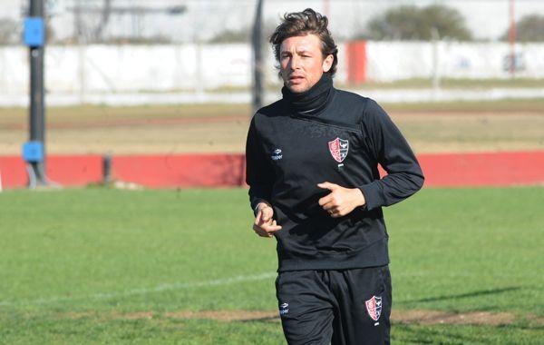 El Gringo hizo fútbol pero estaría para volver en el partido ante Gimnasia.