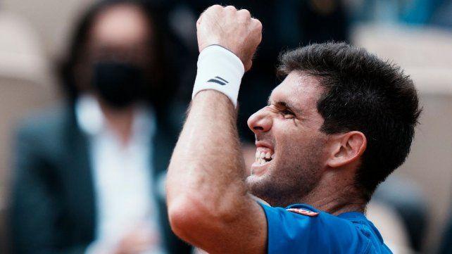 El tenista de Azul viene atravesando una gran temporada que le da réditos en un sitio muy especial para los argentinos: Roland Garros.