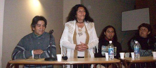 Miembros de la comunidad Salvador Talquenca