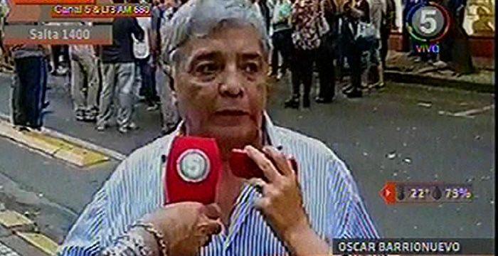 Protesta frente a Aguas Santafesinas en reclamo de mejores condiciones laborales