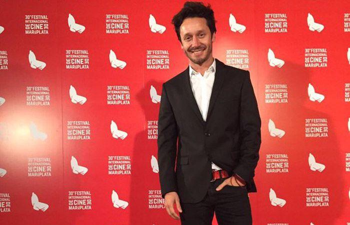 Nada de escándalos. Benjamín Vicuña sólo habló de cine en Mar del Plata.