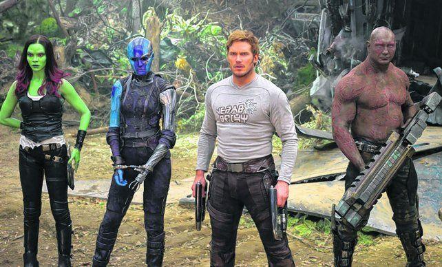 Guardianes de la galaxia. La división de investigaciones de Disney sorprendió con el algoritmo.