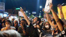 Con todo el alma. Leandro, el hermano de Joaquín, pidió que se deje de lado la disputa entre políticos y se pongan a buscar soluciones inmediatas.