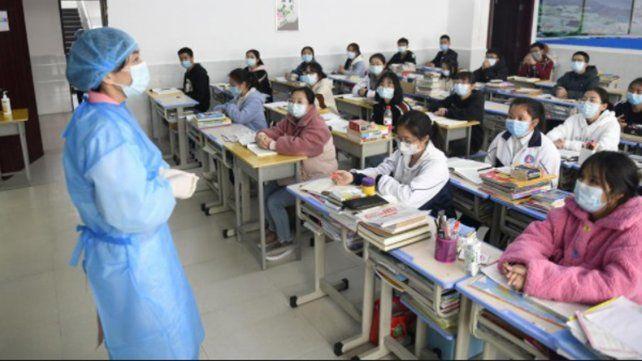 Las autoridades sanitarias chinas están alertas ante la aparición de casos de norovirus en una escuela.