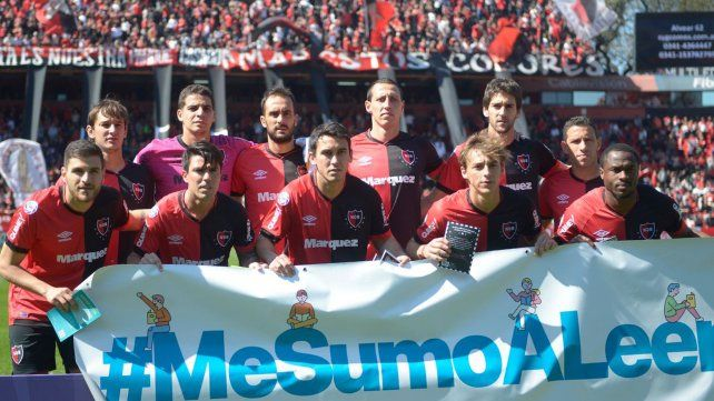 Los once rojinegros que el domingo le ganaron a Huracán por 4 a 1.