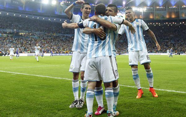 Empezó el festejo. Argentina arrancó el Mundial con el pie derecho.