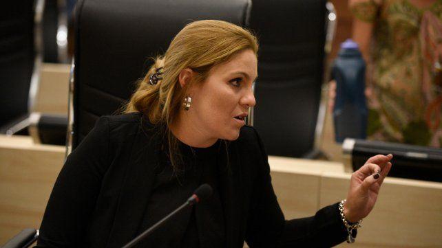 Fernanda Gigliani participó del relanzamiento de la Confederación Socialista.