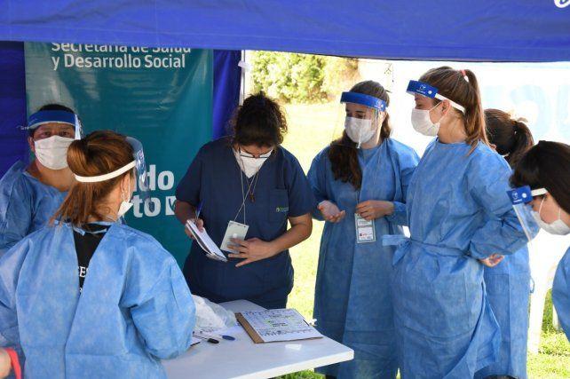 El equipo municipal de Salud recuperó 7500 pacientes Covid desde el inicio de la Pandemia en Venado.