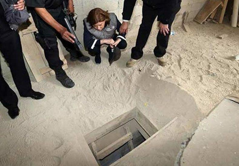 Un video muestra el espectacular túnel que construyó el narco Guzmán