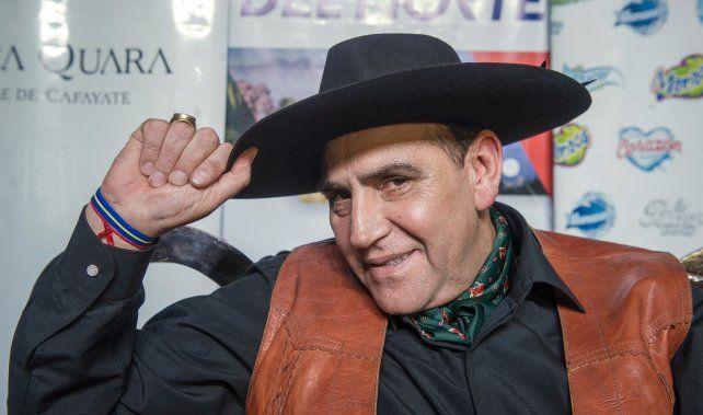 El Chaqueño Palavecino fue internado por complicaciones de la infección de coronavirus