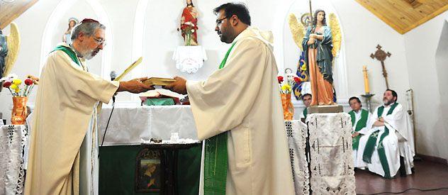 El obispo de la Diócesis Concepción