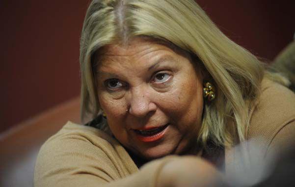 """Dogma. """"Elisa Carrió es una de las más consuetudinarias destructoras de todo espacio político y personal que crea ante el menor disenso con sus ideas""""."""