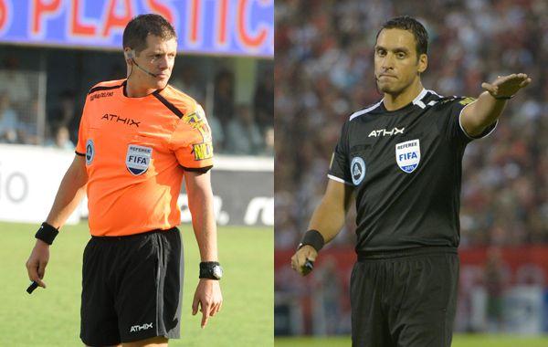 Delfino y Rapallini impartirán justicia en los duelos que disputarán Central y Newells