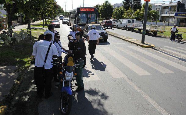 Los operativos de control se están realizando en todos los barrios.
