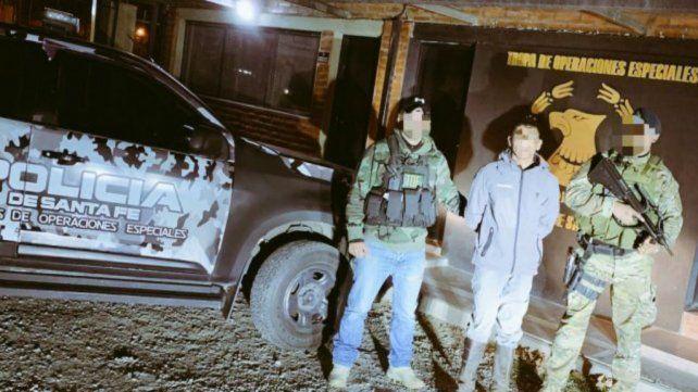 El hombre fue detenido en medio de una jineteada en la localidad de Andino.