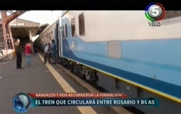 Randazzo garantizó que el tren tendrá coches lindos para viajar a Buenos Aires