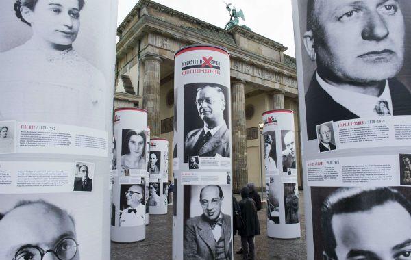 """Revelador. Vista de """"La destrucción de la diversidad. Berlín 1933-1938""""."""
