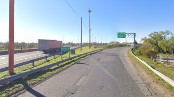 Ruta Nacional 168. A la altura de la zona de La Guardia, en las últimas semanas se registraron ataques a piedrazos a vehículos que circulan por la zona. Foto crédito: Google Street View.