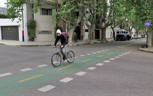 Los vecinos aseguran que por semana hay entre cinco y siete accidentes de ciclistas.