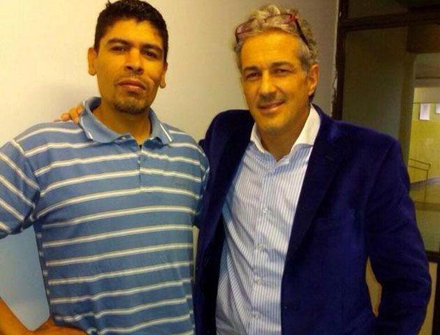 Gastón Aguirre e Ivo Cutzarida se cruzaron anoche en televisión.