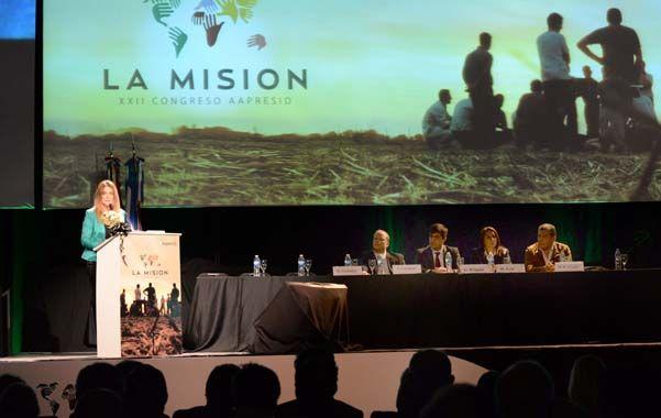 Presencia. Los referentes del sector agropecuario buscan consolidar una agenda política institucional.