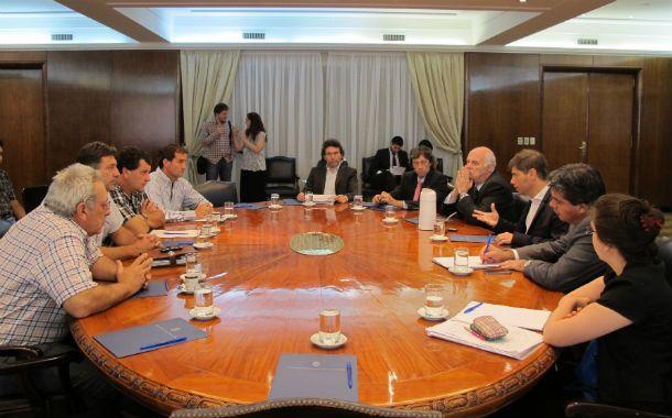 Cumbre. La reunión que mantuvo la conducción federada con los ministros nacionales causó revuelo en el sector.