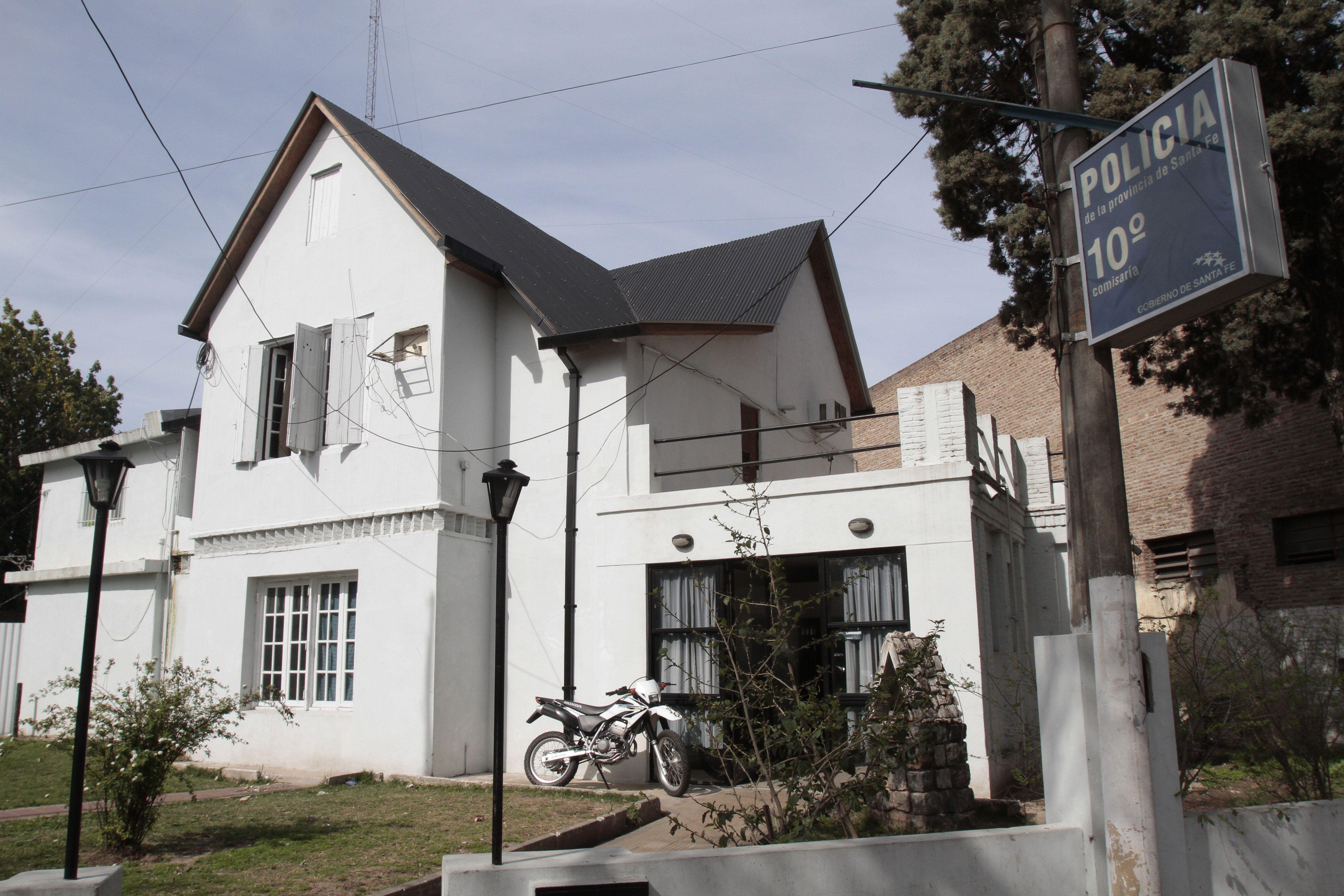 El asalto en la inmobiliaria fue denunciado en la seccional 10ª. (Foto de archivo)