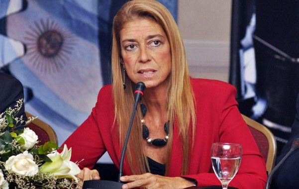 Nueva etapa. La ministra de Industria participó de la cumbre con Brasil.