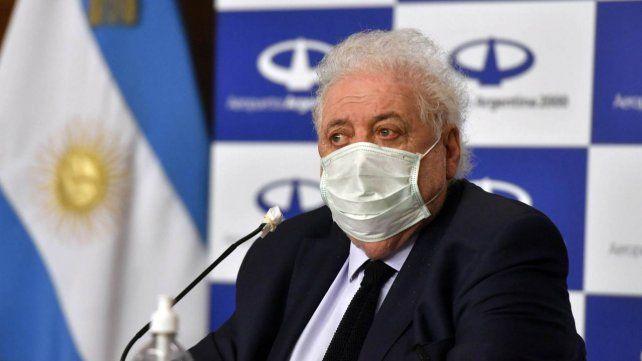 Ginés González García ratificó para antes de fin de año la llegada de una partida de vacunas rusas contra el coronavirus.