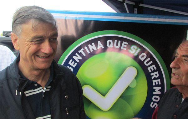 Binner encabezó en Mar del Plata el lanzamiento de una campaña con vistas al 2015.