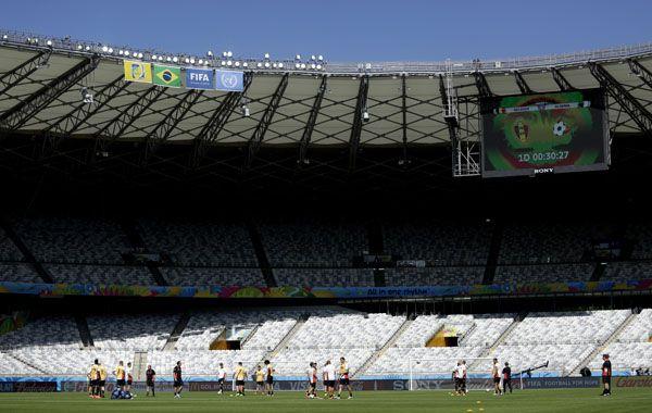 El estadio Mineirao