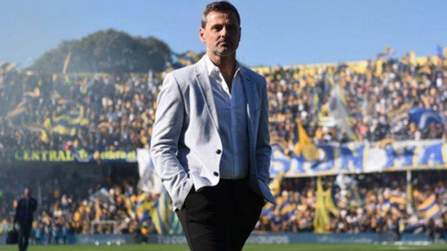 Paso a paso. El entrenador canalla Diego Cocca.