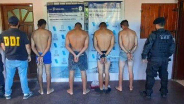 Villa Gesell: cuatro detenidos por asesinar a un dealer que les vendió cocaína rebajada con harina