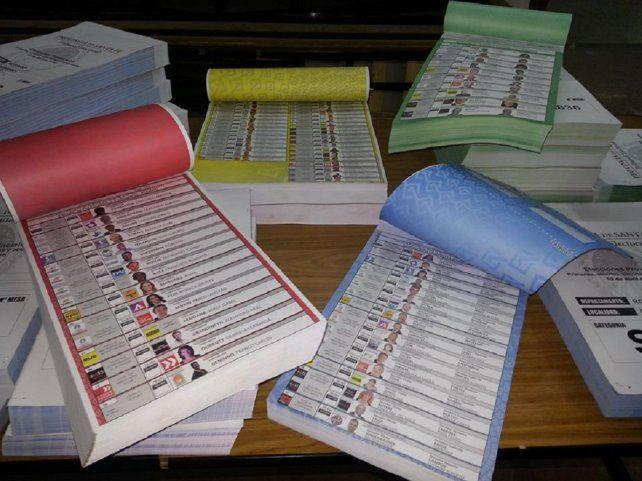 Oferta abundante. Se anotaron 56 listas para competir en las Paso para el Concejo rosarino.