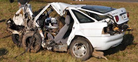 Sepultaron a las víctimas del accidente en Ramona