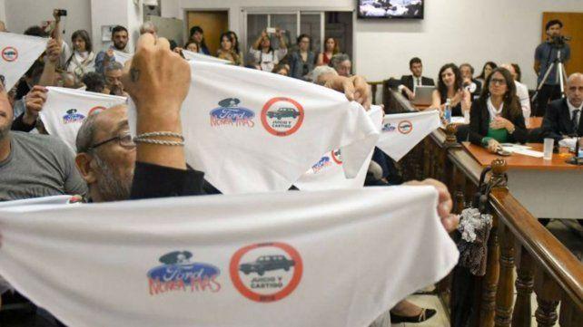 Condenaron a dos ex directivos de Ford por delitos de lesa humanidad