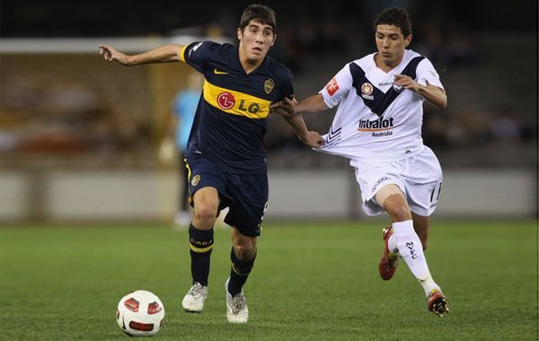 Erbes fue reemplazado por Leandro Somoza a diez minutos del final del partido ante Vélez.