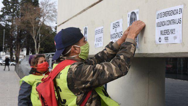 La Corriente Clasista y Combativa y la Asociación de Mujeres Meretrices realizaron una marcha para pedir el esclarecimiento del crimen.