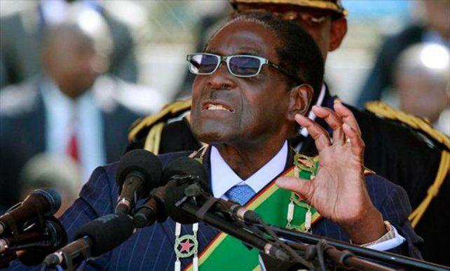El mandatario de Zimbabwe