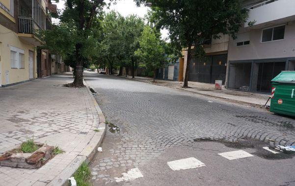 La Esquina. A Leandro Huiza lo mataron aquí ayer a las seis de la mañana.