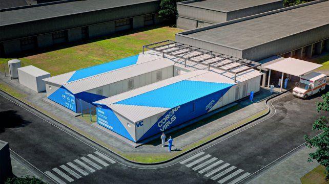 El Hospital de Villa Constitución es centro de referencia Covid a nivel regoinal