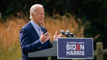 Joe Biden, el hombre que representa el sentimiento mayoritario de volver al país de siempre.