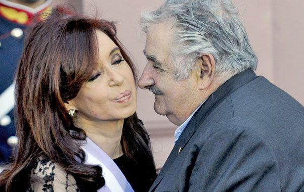 Por la reconciliación. Cristina no hizo ningún comentario de los dichos de Mujica