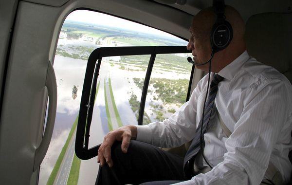 Bonfatti irá en busca de obras de reconstrucción en las regiones que sufrieron daños.