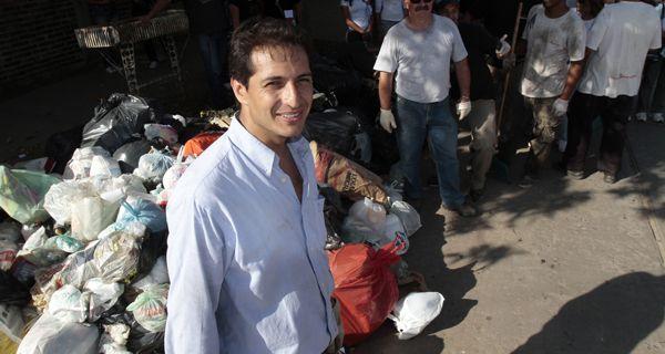 Murabito dijo que faltó a la asunción de Pedro González para evitar un escrache